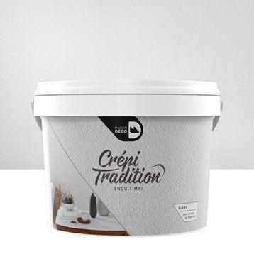 Peinture à effet, Crépi tradition MAISON DECO, blanc, 15 kg