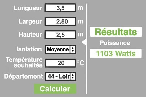 lutilisation dun simulateur en ligne est un bon moyen de se simplifier la vie tapez calculette radiateur sur leroymerlinfr le calcul tiendra - Calcul Puissance Radiateur Salle De Bain