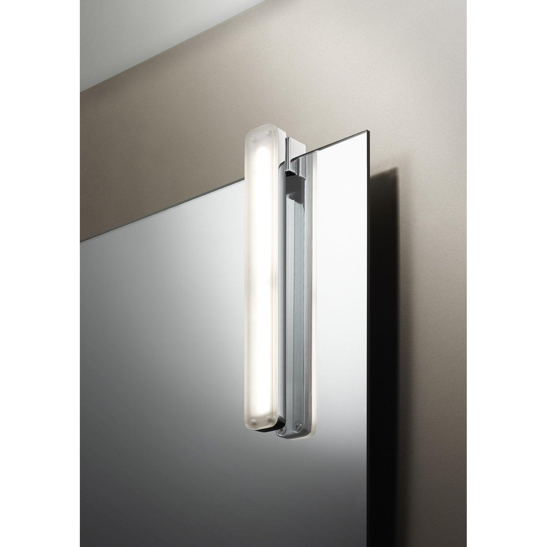 Spot à fixer sur miroir Ling, LED 1 x 5 W, LED intégrée blanc froid ...