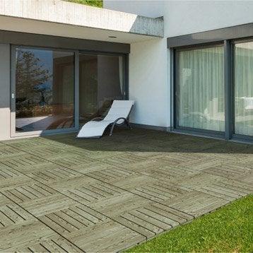 Dalle terrasse caillebotis terrasse bois terrasse composite leroy merlin - Dalle terrasse composite leroy merlin ...