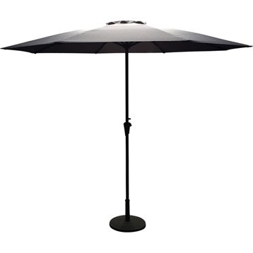 parasol parasol d port de balcon droit leroy merlin. Black Bedroom Furniture Sets. Home Design Ideas