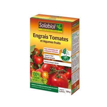 Engrais naturel tomates SOLABIOL 750gr