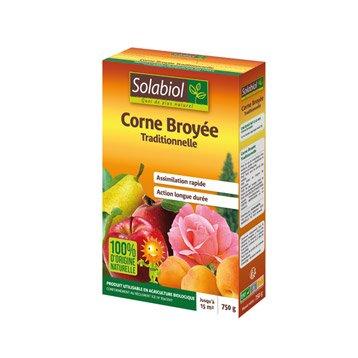 Engrais naturel corne broyée SOLABIOL 750gr 8 m²