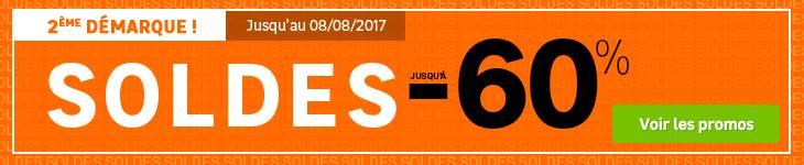 Soldes Juin 2017 - 2ème démarque 60%