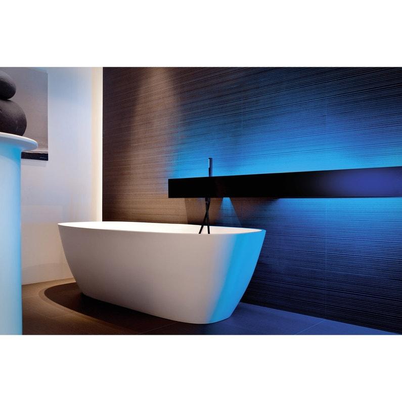 Applique LED salle de bain Daphne à quatre lampes