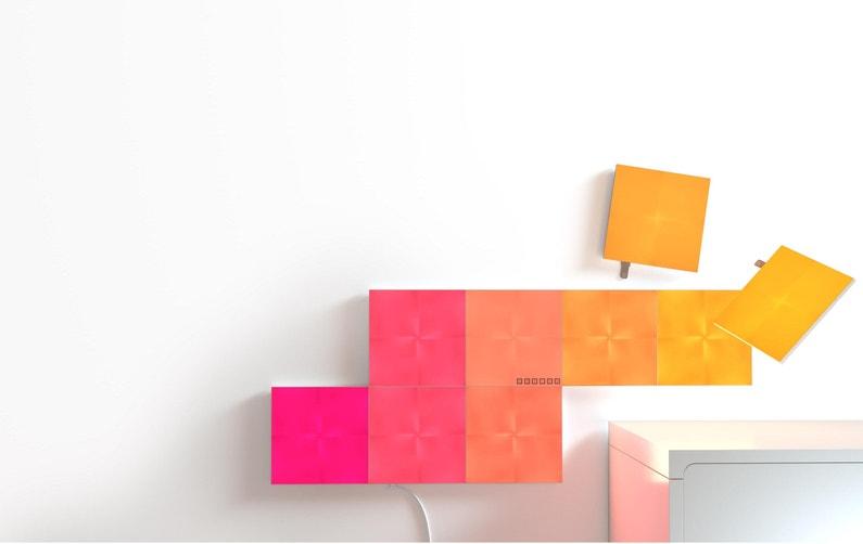 Nanoleaf Canvas Pack Dexpansion 4 Panneaux Lumineux Led