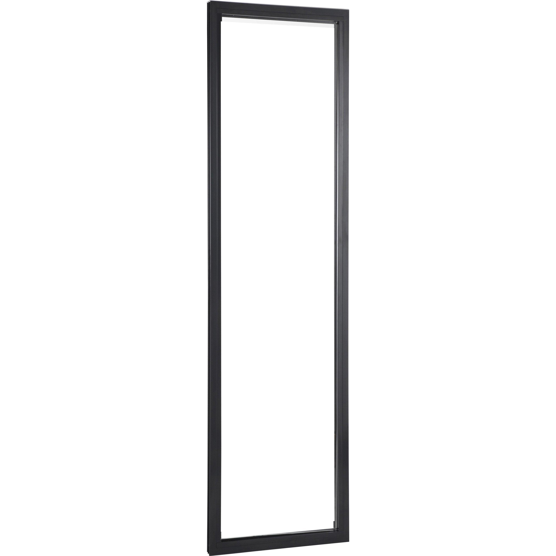 Fenêtre Aluminium H.215 x l.60 cm, gris anth. / gris anth., 1 vantail fixe