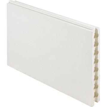 Carreau de plâtre creux L.66 x l.50 x Ep.7 cm