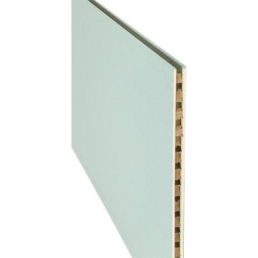 Cloison alv olaire hydro nf 2 5 x 1 2 m ep 5 cm leroy for Cloison alveolaire 50 mm