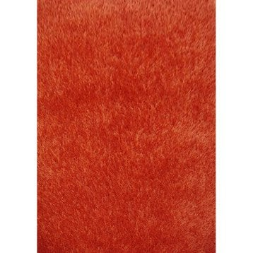 Tapis Shaggy Lilou Orange 170x120 Cm