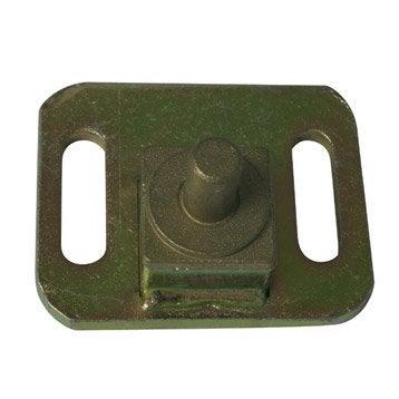 Crapaudine métal prépeint, H.50 x L.80 x P.65 mm