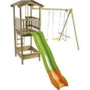portique maisonnette trampoline et toboggan jardin. Black Bedroom Furniture Sets. Home Design Ideas