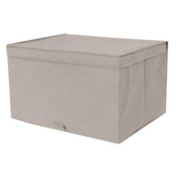 Panier malle et boite de rangement accessoires de - Boite rangement leroy merlin ...