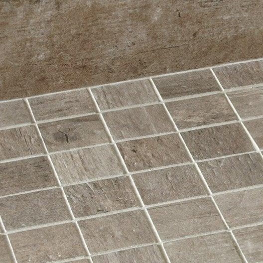 Mosa que galet carrelage sol et mur leroy merlin for Prix piscine 5x5