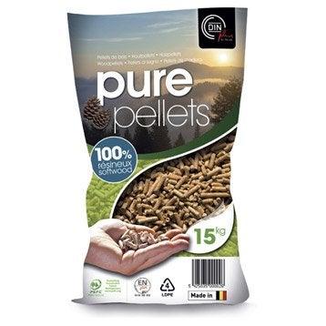 Bois de chauffage granul s pellets et b ches calorifique for Stufa pellet canalizzata leroy merlin