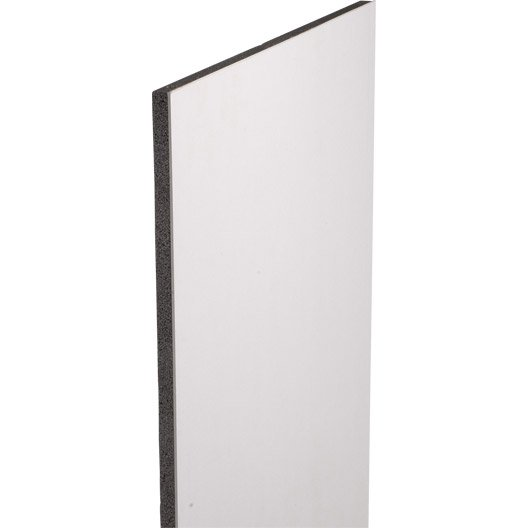 doublage en polystyr ne expans th 32 siniat 2 5 x ep 13 80mm r leroy merlin. Black Bedroom Furniture Sets. Home Design Ideas