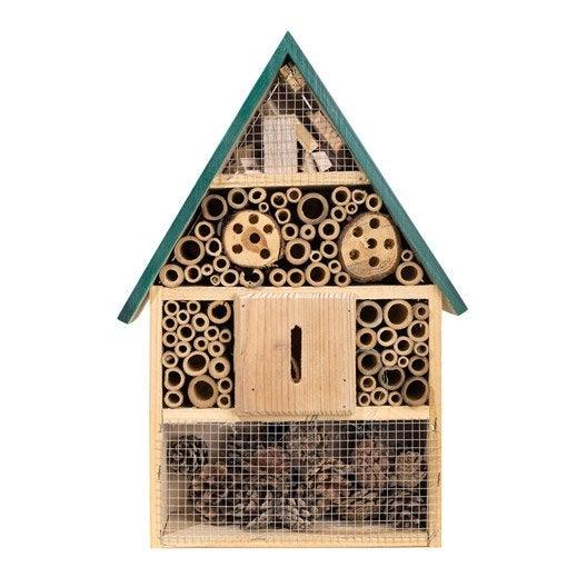 Atelier enfant comment r aliser une maison insectes - Atelier bricolage leroy merlin ...
