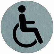 Disque wc handicapés en aluminium