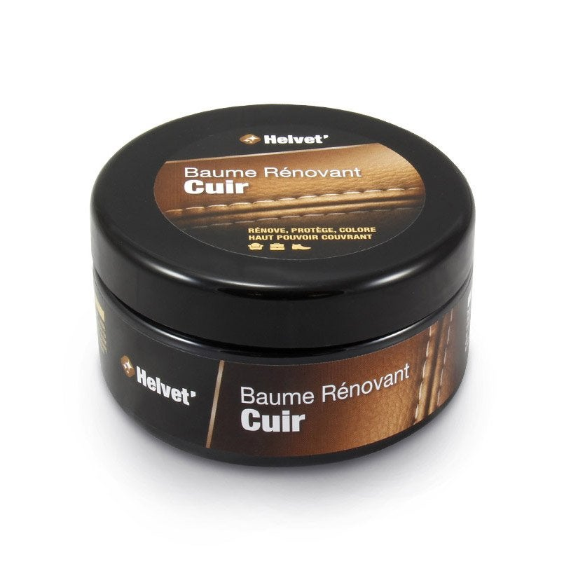 df142f792b03 Baume rénovant brillant cuir HELVET, marron-chocolat crème, 200 ml ...