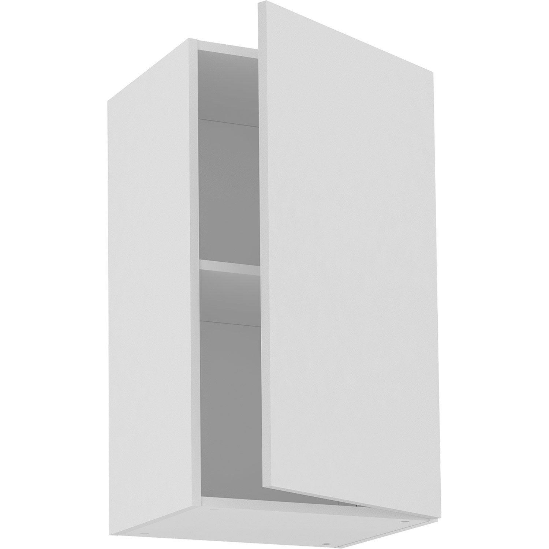 Meuble haut de cuisine Sofia blanc, 10 porte H10xl10