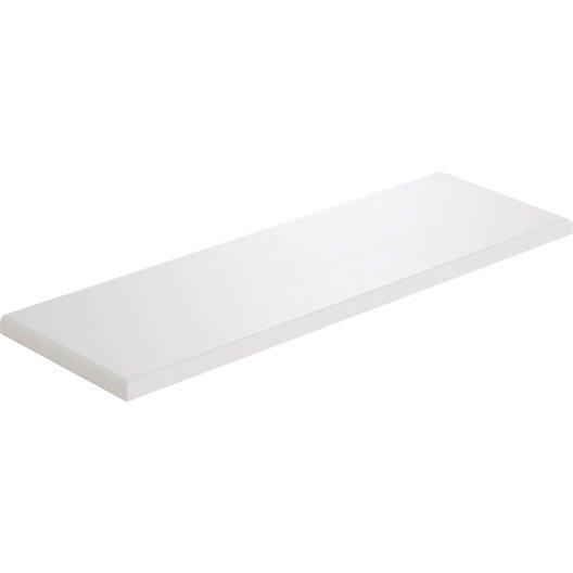 tablette radiateur blanc x cm mm leroy merlin. Black Bedroom Furniture Sets. Home Design Ideas