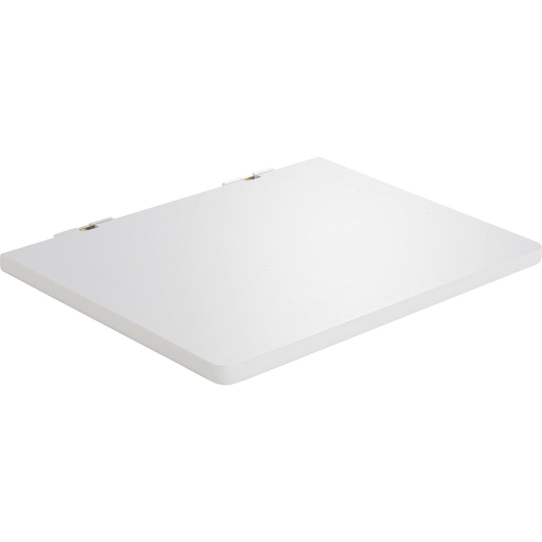 etagère pour micro-onde blanc, l 50 x p 40 cm ep.30 mm   leroy merlin