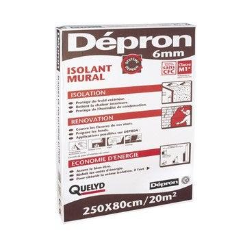 Plaque mur DEPRON l.2500 x L.800 mm, Ep.6 mm