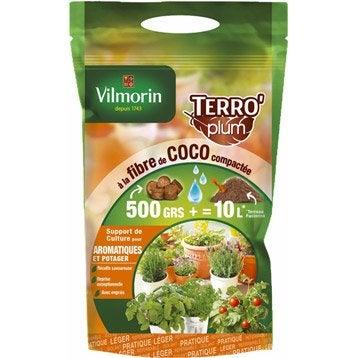 Terreau plantes aromatiques VILMORIN, 10 l