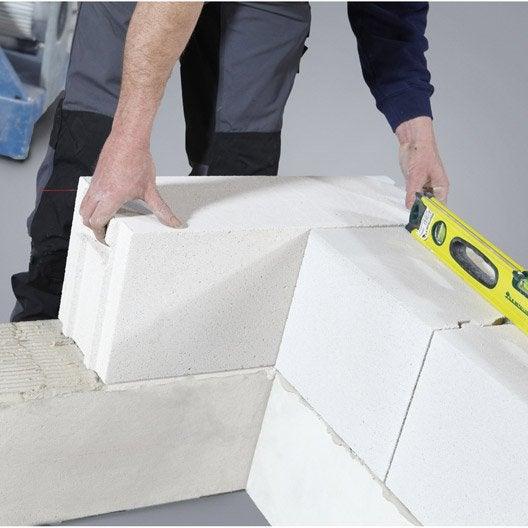comment monter un mur en parpaings leroy merlin. Black Bedroom Furniture Sets. Home Design Ideas