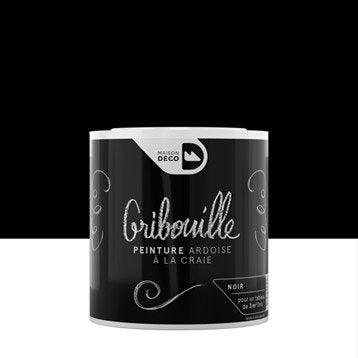 Peinture tableau craie noir MAISON DECO Gribouille 0.5 l