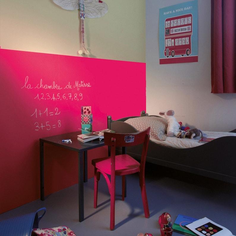 Peinture tableau craie framboise mat maison deco - Peinture tableau craie ...