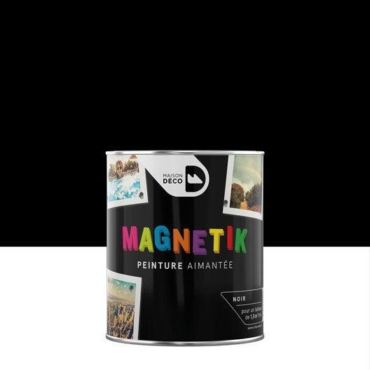 Peinture Magnétique Noir Maison Deco Magnétik C'Est Génial ! 0.5 L