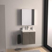 Meuble de salle de bains de 60 à 79, brun / marron, Remix