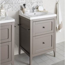 Meuble salle de bains bois au meilleur prix leroy merlin for Meuble ashley prix