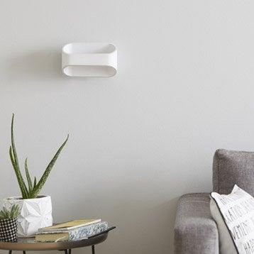 Applique Koper, 1 x 5 W, métal blanc, INSPIRE