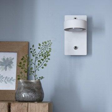 Applique design led intégrée Egio métal Blanc, 1 INSPIRE