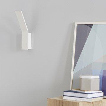 Applique design led intégrée Pic métal Blanc, 1 INSPIRE