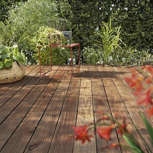 planche bois douglas biseau marron x cm x mm leroy merlin. Black Bedroom Furniture Sets. Home Design Ideas