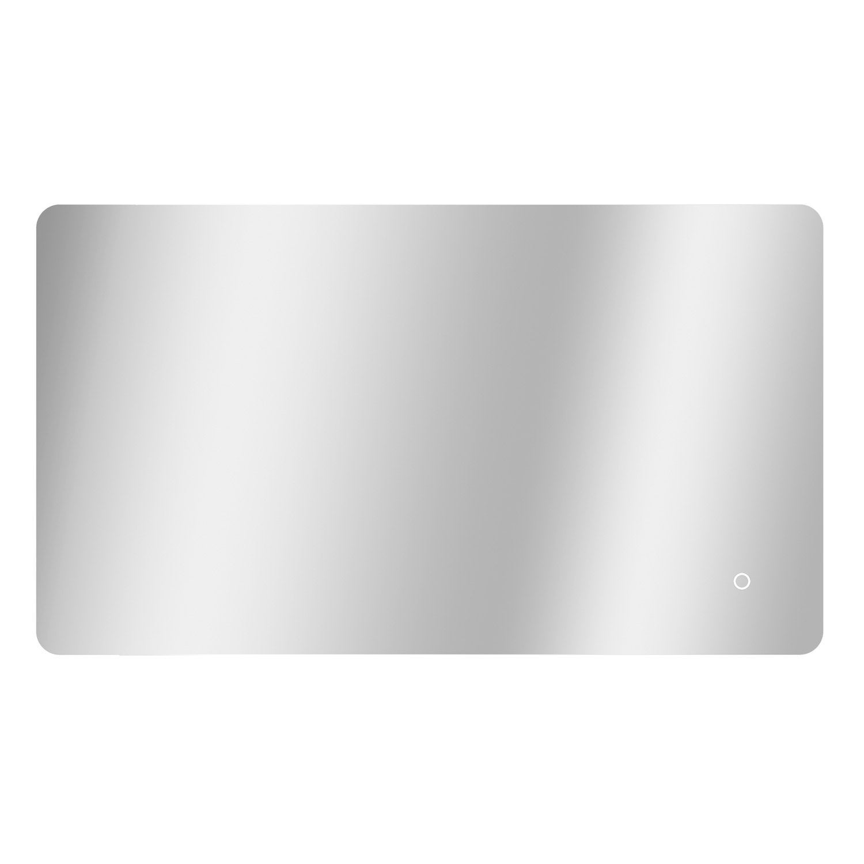 Miroir Salle De Bain 120 Cm miroir lumineux avec éclairage intégré, l.120 x h.70 cm renzo
