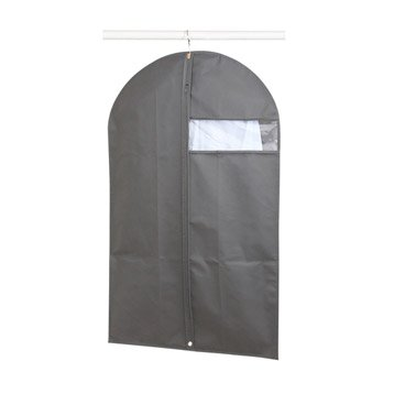 cintre bois m tal et plastique housse et tag re suspendre leroy merlin. Black Bedroom Furniture Sets. Home Design Ideas
