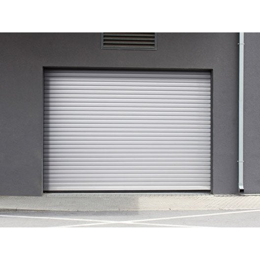 porte de garage a enroulement porte de garage motorisee With leroy merlin store exterieur 10 porte dentree sur mesure leroy merlin
