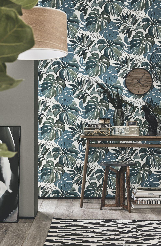 Papier Peint Motif Nature papier peint jungle pour une touche nature | leroy merlin