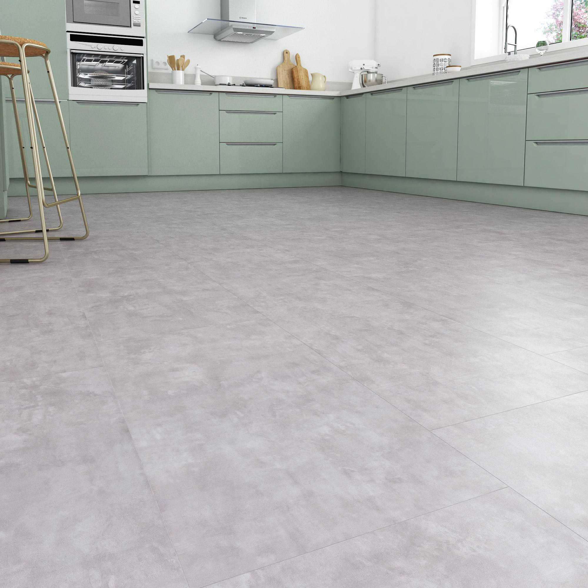 Dalle PVC clipsable manhattan clear GERFLOR Senso premium clic
