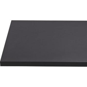 0463e6de754 Plan de travail stratifié Mat edition noir Mat L.315 x P.65 cm