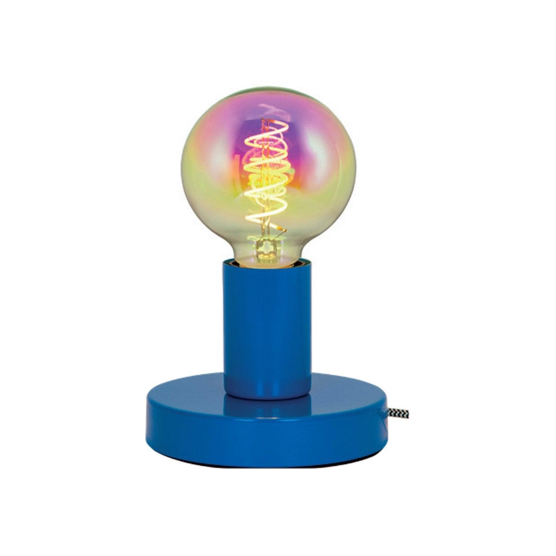 Lampe, enfant, métal bleu, SAMPA HELIOS Lina