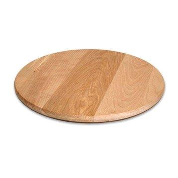 plateau tournant en bois. Black Bedroom Furniture Sets. Home Design Ideas