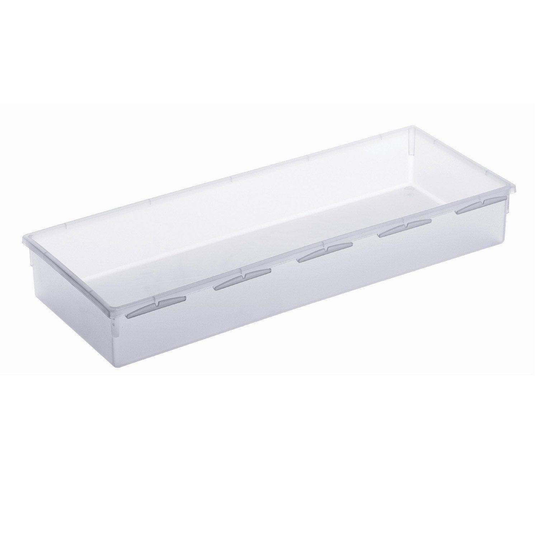 Organisateur tiroir transparent l.15 x p.38 cm | Leroy Merlin
