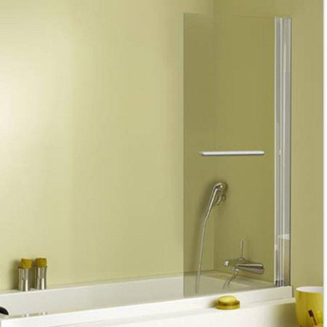 Des plantes dans une salle de bains v g tale leroy merlin - Pare baignoire relevable ...