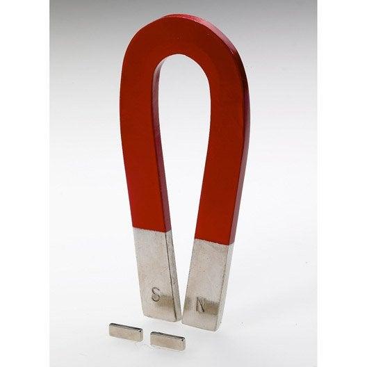 Aimant magnétique HETTICH, L.105 x l.46 mm