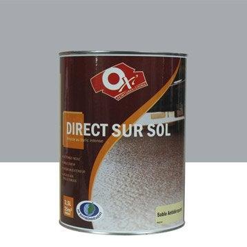 Peinture sol extérieur / intérieur Antidérapante OXYTOL, gris, 2.5 l